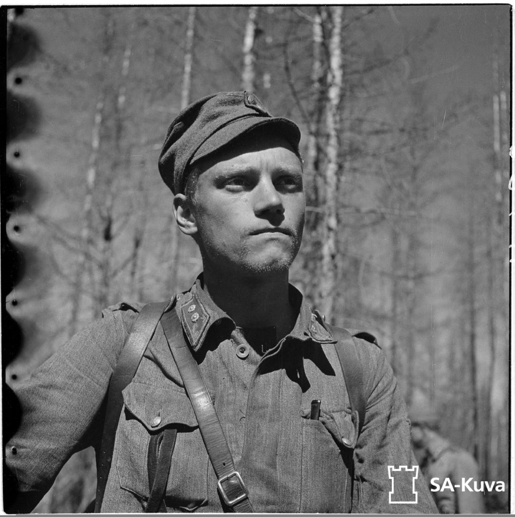 Mannerheim-ristin ritari luutnanttti Lauri Törni.